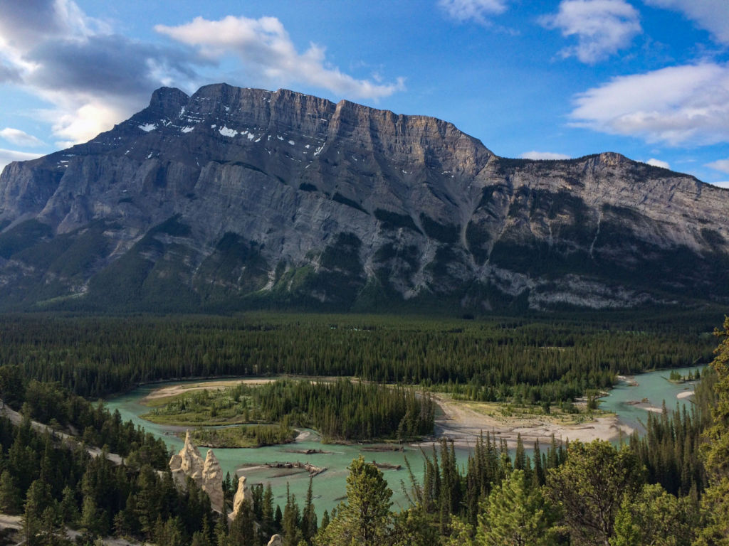 tunnel mountain and the bow river