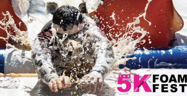 Jul 28, 2018, 5K Foam Fest