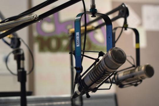 Photo of radio microphone
