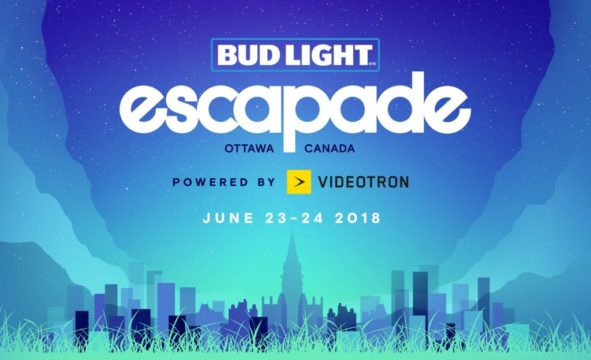 June 23, 2018, Bud Light Escapade Music Festival 2018