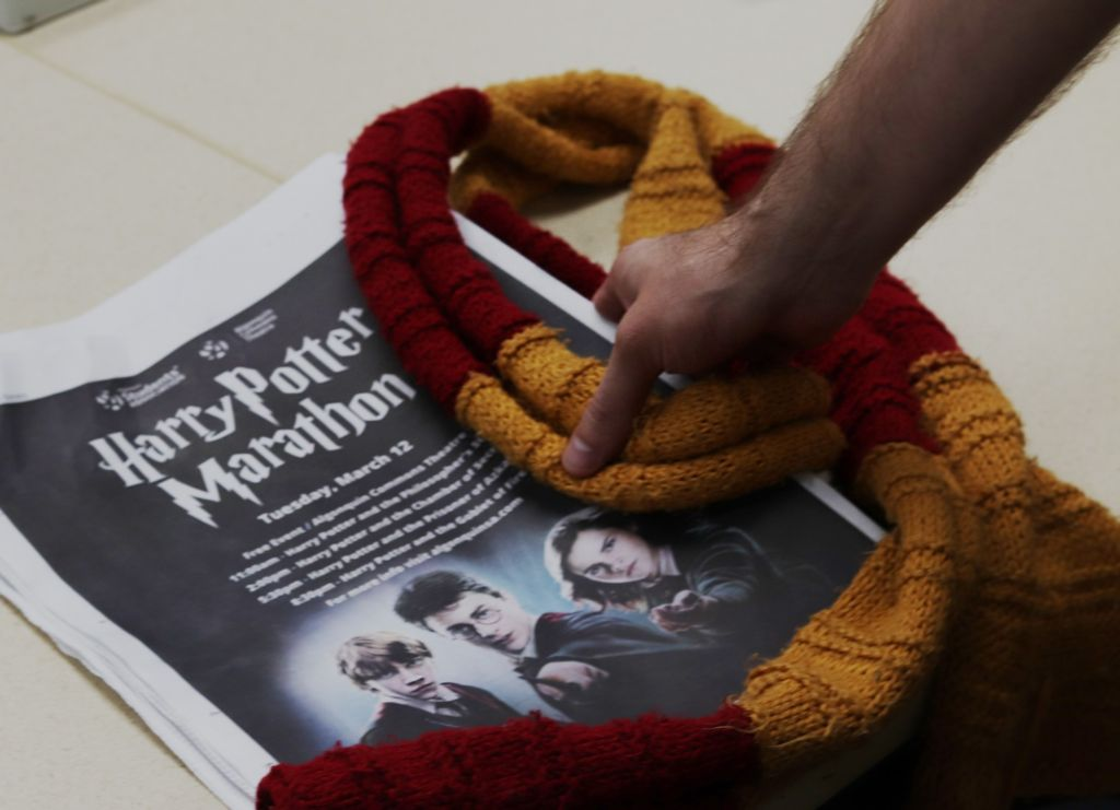 For Harry Potter fans at an all-day movie marathon, magic is