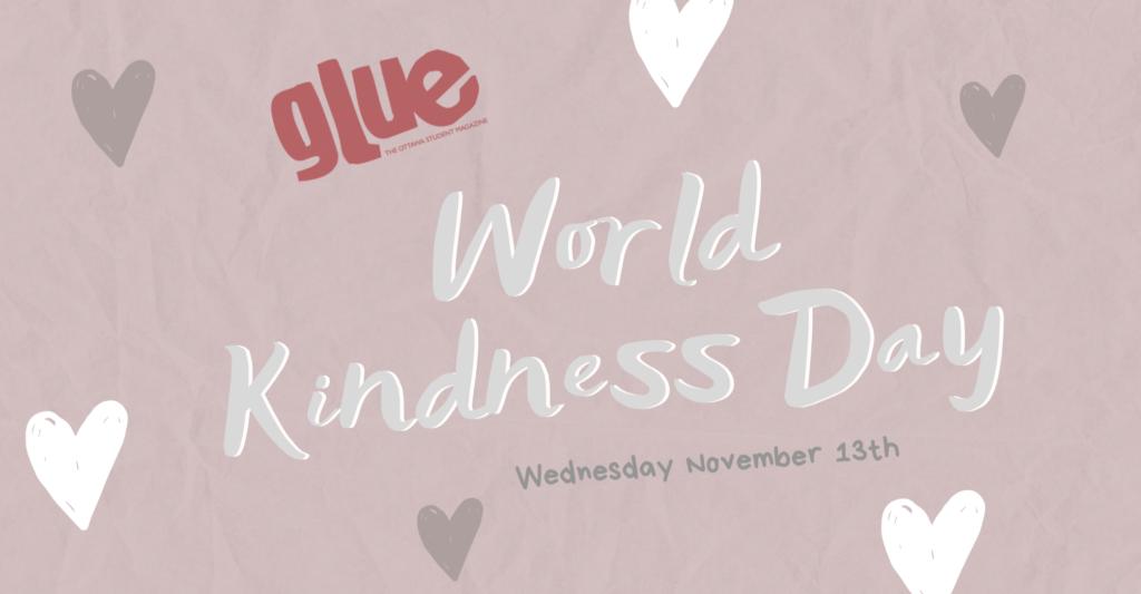 Nov. 13th World Kindness Day