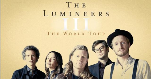 Mar. 7th The Lumineers - III: The World Tour