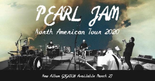 Mar. 20 Pearl Jam Live