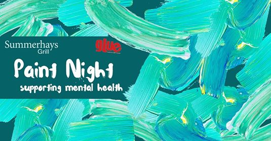 Feb. 19th Paint Night Supporting Mental Health