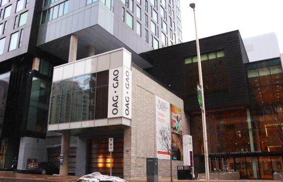 Visit the Ottawa Art Gallery, located at 50 Mackenzie King Bridge.