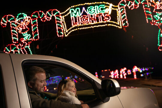 Make some memories by experiencing the glow and warmth of the Magic of Lights event this holiday season!