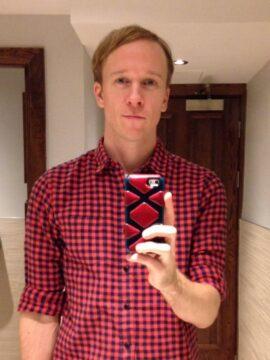 Hank Redisi, 31, gay