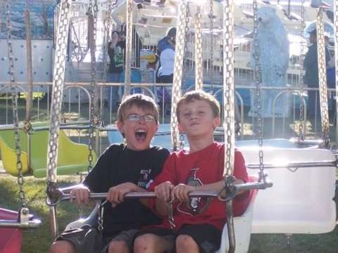 Wyatt Carter and Julien St-Jean at the Richmond fair as children.